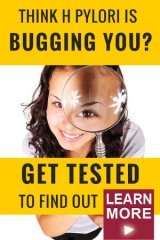 Think H Pylori is bugging you? Don't get an H Pylori Blood test, get an H pylori stool test