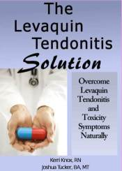 Levaquin Tendonitis Solution Cover
