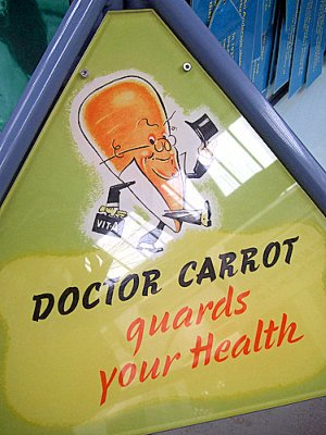 Carrots for Caratenoids, Not Cod Liver Oil