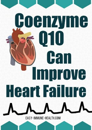 Coenzyme q10 for heart failure can be an effective treatment