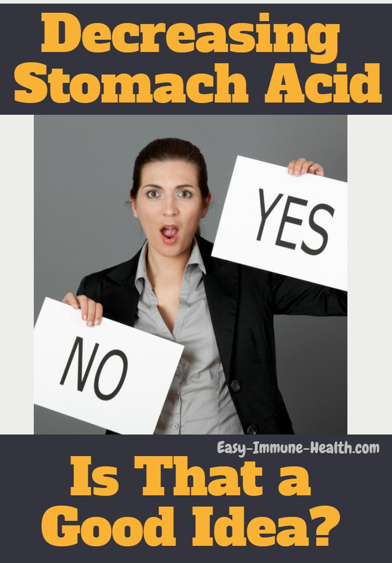 how to increase stomach acid.