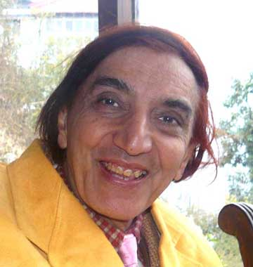 Priya Nath Mehta ( Nathji) at Mussoorie, India