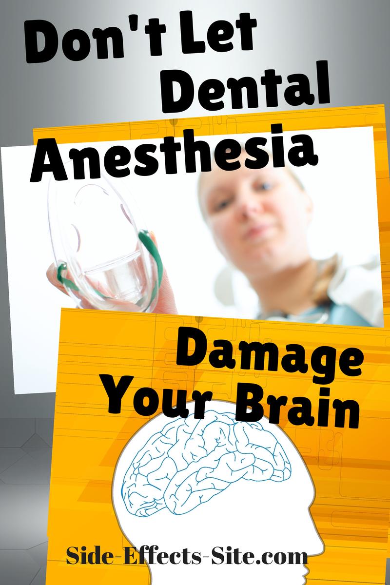 don't let dental nitrous oxide damage your brain
