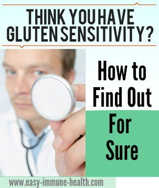 Think that you might have gluten sensitivity? Diagnosing gluten allergy is tricky and confusing. Learn how to find out for sure.   http://www.easy-immune-health.com/Diagnosing-Gluten-Allergy.html