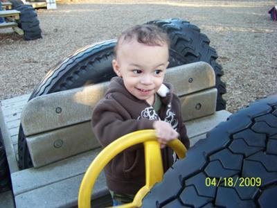 My baby Caleb