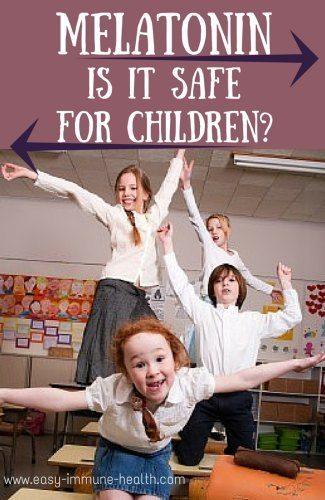 Melatonin for children. Is that such a good idea?