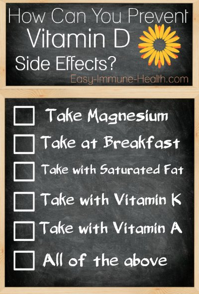 How Can You Avoid Vitamin D Side Effects
