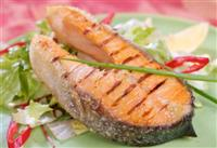 Salmon Has good fats and vitamin d